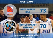 POST GAME - Fossano
